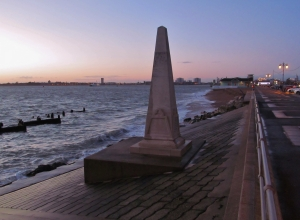 Aboukir Memorial, Southsea seafront