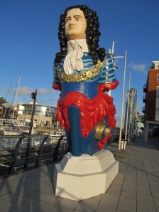 Figurehead, close-up...