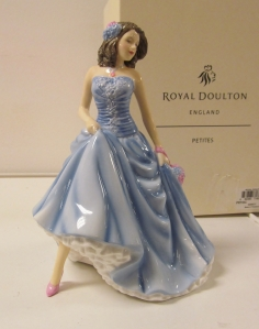 'Nancy' one of the 'Pretty Ladies' figurines in the Royal Doulton series...