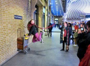 An enthusiastic Harry Potter fan :)...