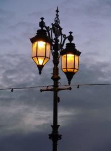 Streetlamp on Southsea seafront