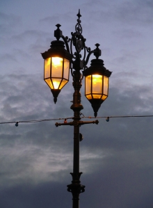 Streetlamp on Southsea seafront