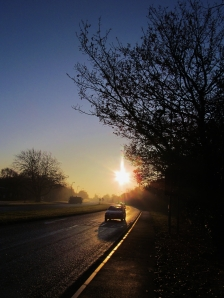 Southampton Road, Titchfield, about half-eight in the morning