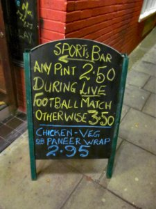 The Sports Bar, The Torrington House pub, Lodge Lane, North Finchley, London N12