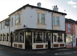The Lawrence Arms, in Lawrence Road