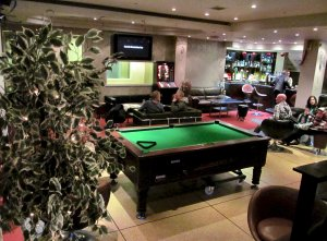 Inside the Sports Bar...